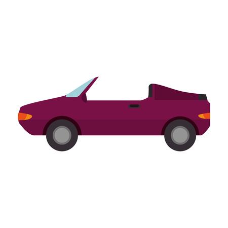 convertible car vehicle isolated icon vector illustration design Standard-Bild - 108251297