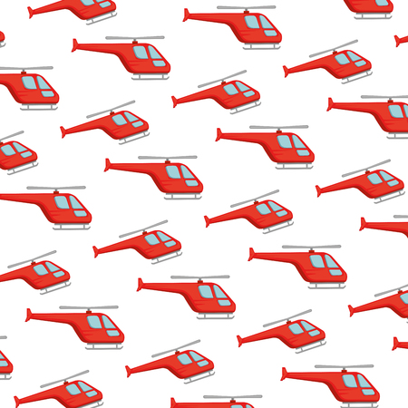 helicopters flying pattern background vector illustration design Illustration