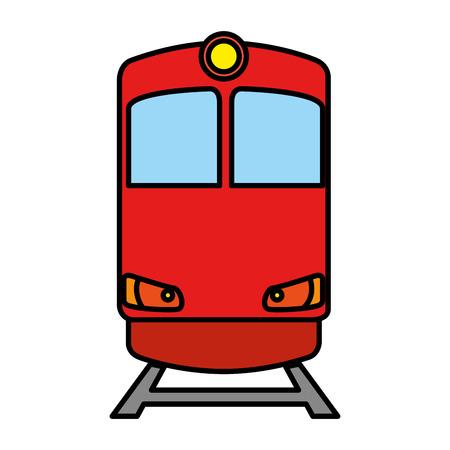 train transport isolated icon vector illustration design Banco de Imagens - 108253605