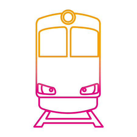 train transport isolated icon vector illustration design Stock Vector - 108252940