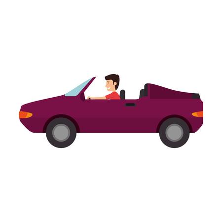 convertible car vehicle isolated icon vector illustration design Standard-Bild - 108259846