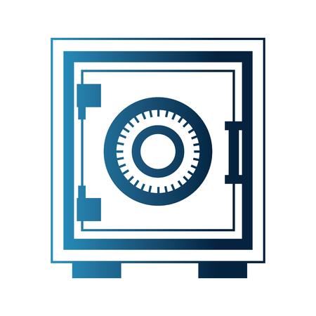 safe heavy box icon vector illustration design 向量圖像