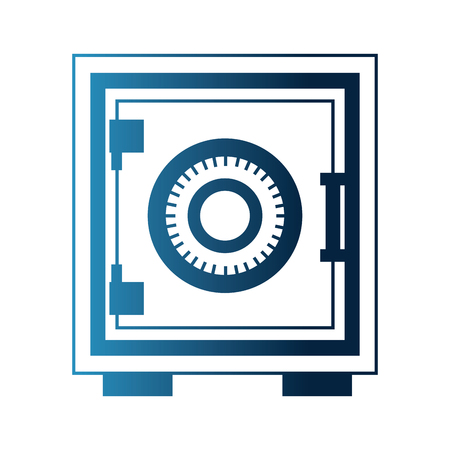 safe heavy box icon vector illustration design Illustration