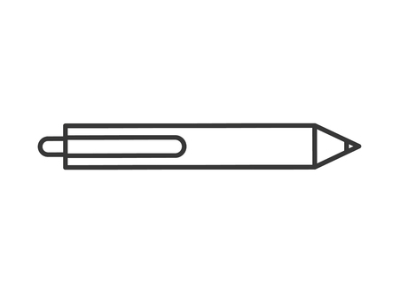 graphic design pen ink write tool vector illustration thin line