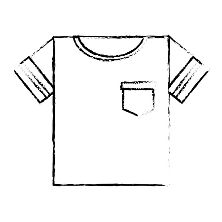shirt male clothes icon vector illustration design Ilustração