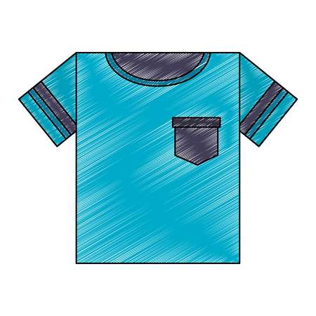 shirt male clothes icon vector illustration design 写真素材 - 109952730