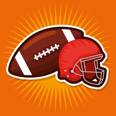 american football champions league vector illustration design Illustration