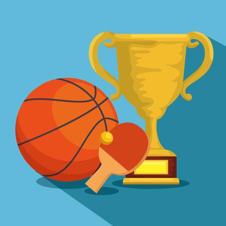 sports champions league icons vector illustration design