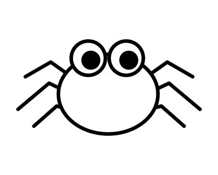 Halloween spin geïsoleerd pictogram vector illustratie ontwerp