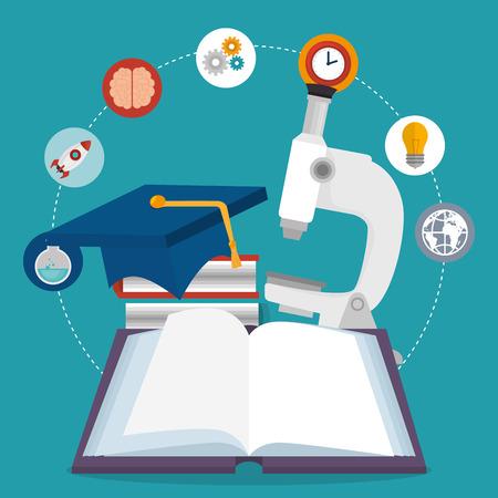 education online set icons vector illustration design