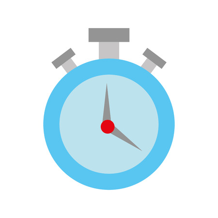 round stopwatch timer hour countdown vector illustration Stock Vector - 108850067