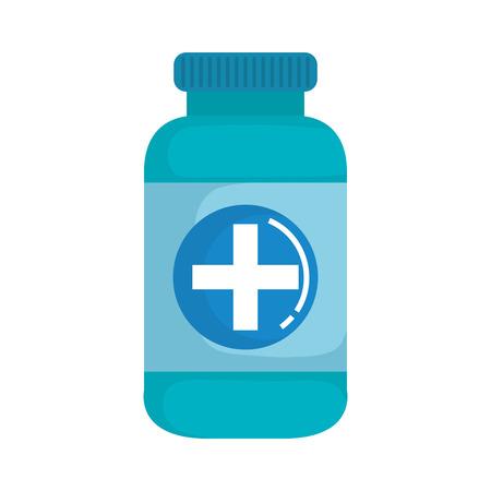 bottle drugs isolated icon vector illustration design Фото со стока - 109721803