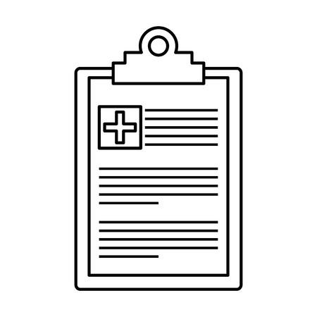 medical order isolated icon vector illustration design Standard-Bild - 109721833