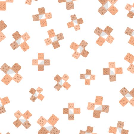 cure band pattern background vector illustration design Ilustracja