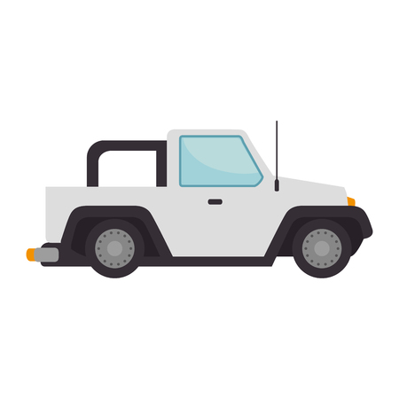 car 4x4 isolated icon vector illustration design Ilustração