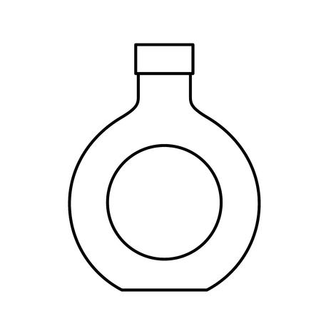 Bottle drink beverage alcohol isolated vector illustration outline 版權商用圖片
