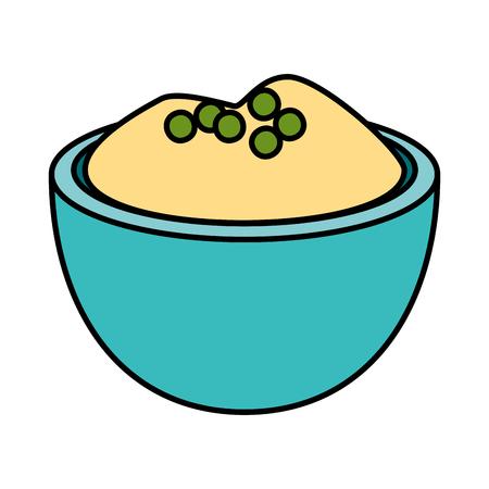 delicious apple puree icon vector illustration design