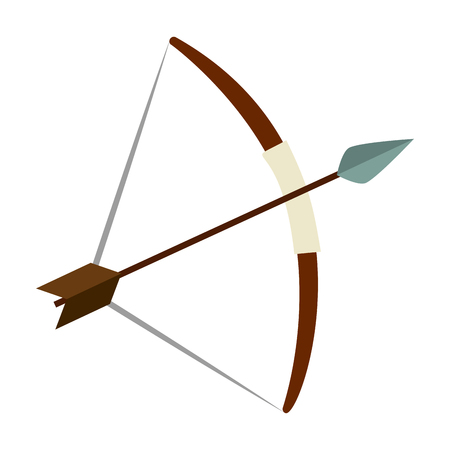 bow and arrow icon vector illustration design Zdjęcie Seryjne - 109400585