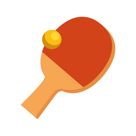 Table tennis sport icons vector illustration design Çizim