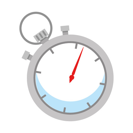 chronometer timer isolated icon vector illustration design Imagens - 109400630