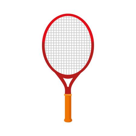 tennis racket isolated icon vector illustration design Ilustração