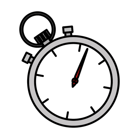chronometer timer isolated icon vector illustration design Reklamní fotografie - 109400827