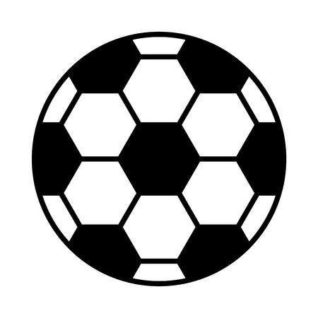 soccer football sport ball icon vector illustration design
