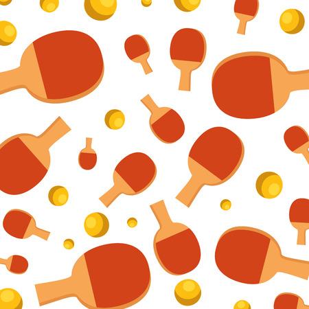 table tennis sport pattern vector illustration design