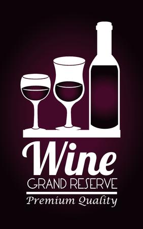 Drinks design over dark background,vector illustration Illustration