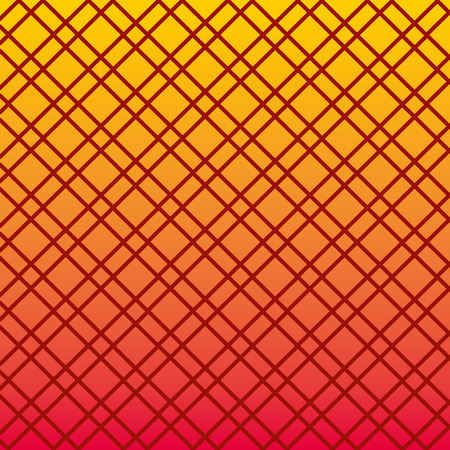 color and rhombus lines pattern vector illustration design