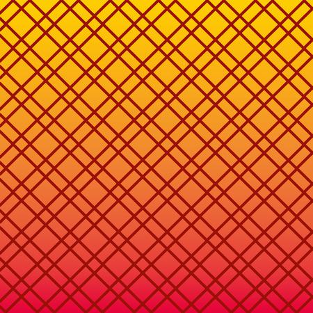 Conception d'illustration vectorielle motif lignes couleur et losange