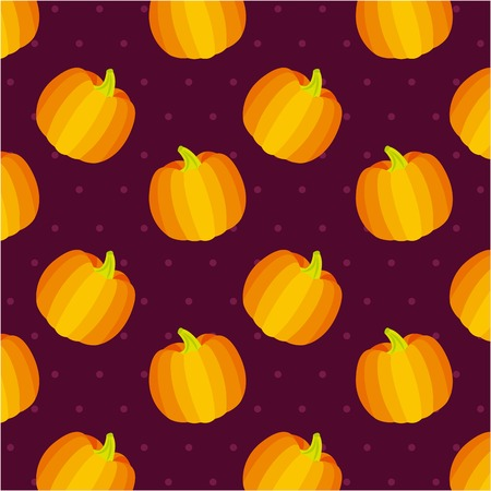 pumpkins delicious food background colors vector illustration
