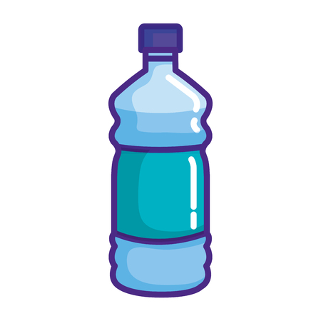 water bottle isolated icon vector illustration design