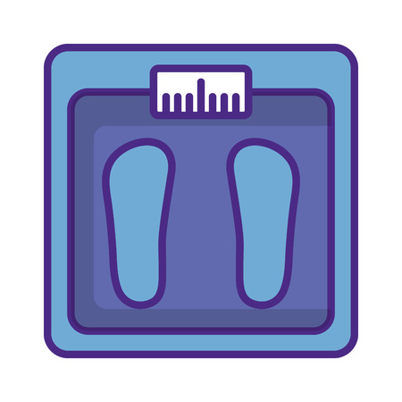 balance bathroom isolated icon vector illustration design