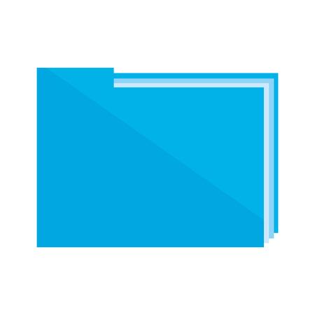 folder document data icon vector illustration design
