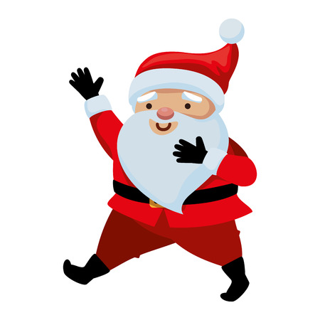 cute santa claus character vector illustration design  イラスト・ベクター素材