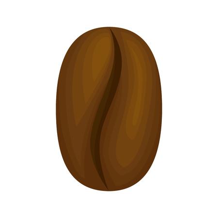 delicious coffee grain icon vector illustration design