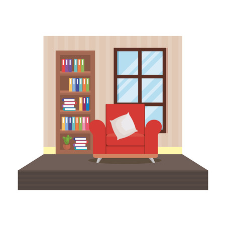 home livingroom place scene vector illustration design Stock Vector - 109896270