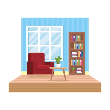 home livingroom place scene vector illustration design Stock Vector - 109896282