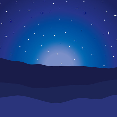 desert night manger scene background vector illustration design Ilustrace