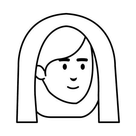 cute mary virgin character vector illustration design Banque d'images - 110316017