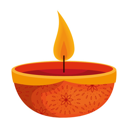 aromatherapy candle isolated icon vector illustration design