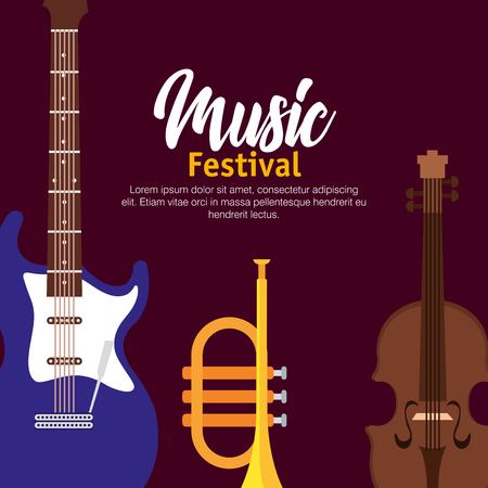 set music instruments icons vector illustration design