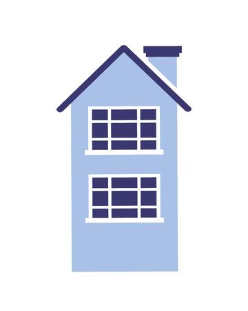 house home on white background vector illustration