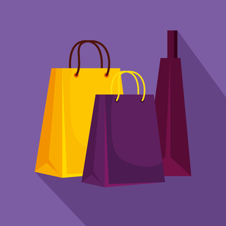 fashion sale bags to special promotion vector illustration Stock Vector - 127716863