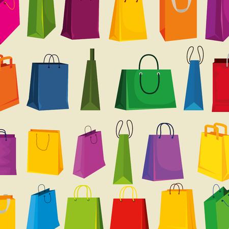 sale bags to super special offer background vector illustration Illustration
