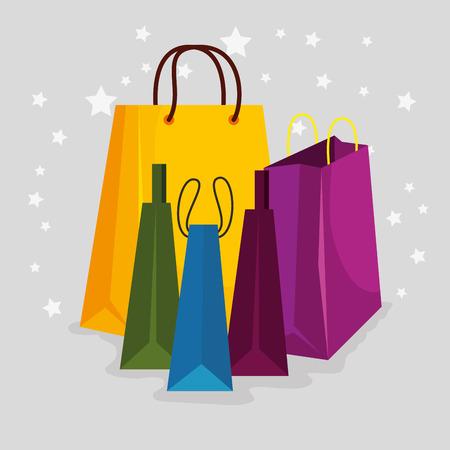 sale bags to special online offer vector illustration Illustration