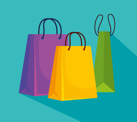 sale bags to super online pricce vector illustration Stock Vector - 127716874