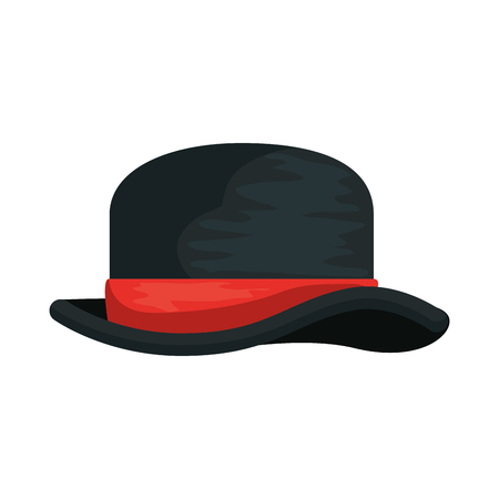 gentleman top hat icon vector illustration design Archivio Fotografico - 127638702