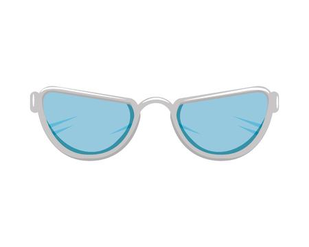eye glasses accessory icon vector illustration design Stock Illustratie